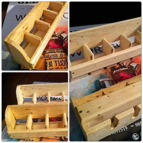 Rak Botol Wine jual rak botol kayu palet wine rack gerbang