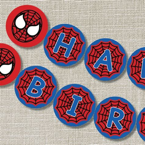 printable spiderman birthday banner 32 best birthday party images on pinterest birthday