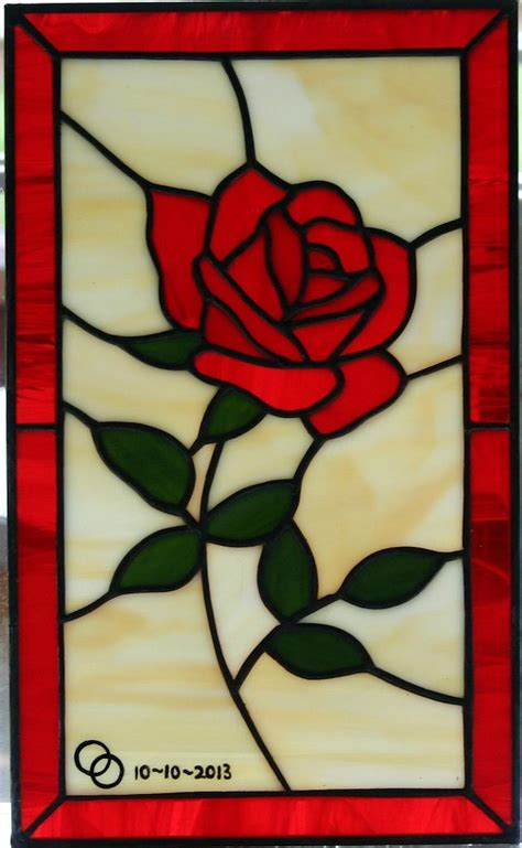 stained glass rose tattoo 25 best ideas about stained glass on