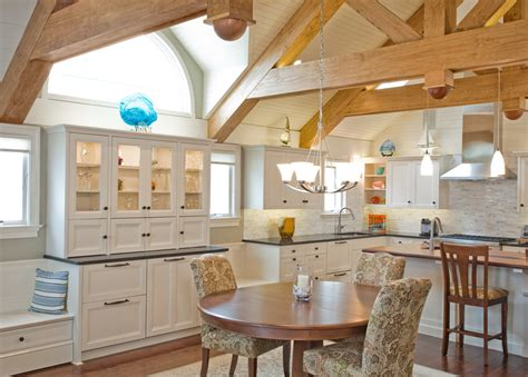 superior woodcraft ocean view kitchen custom