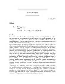 Hardship Letter Requesting Principal Reduction Hardship Letter For Loan Modifications Vertola
