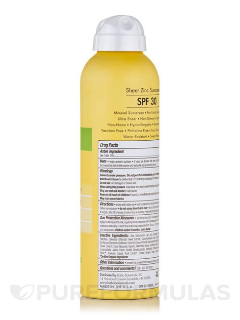 6 Brands For Sensitive Skin by Sheer Zinc Sunscreen For Sensitive Skin Spf 30