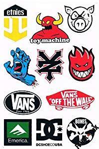 Coole Simson Aufkleber by Sticker Set Skater Labels Brand Und Marken Aufkleber