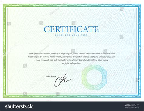template that used certificate currency diplomas stock