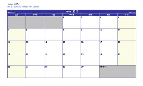 easy fill  calendar june  calendar template
