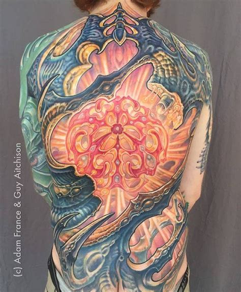 biomechanical tattoo artists 17 best images about biorganico on back pieces