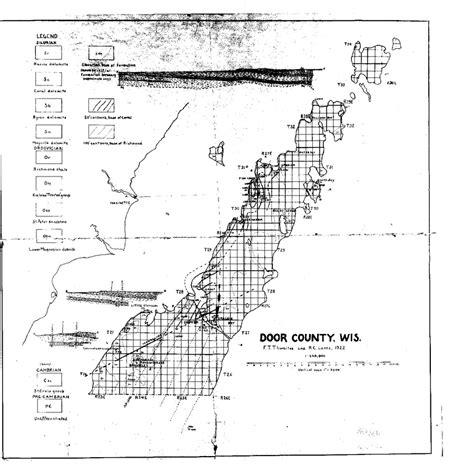 wisconsin geological history survey 187 bedrock