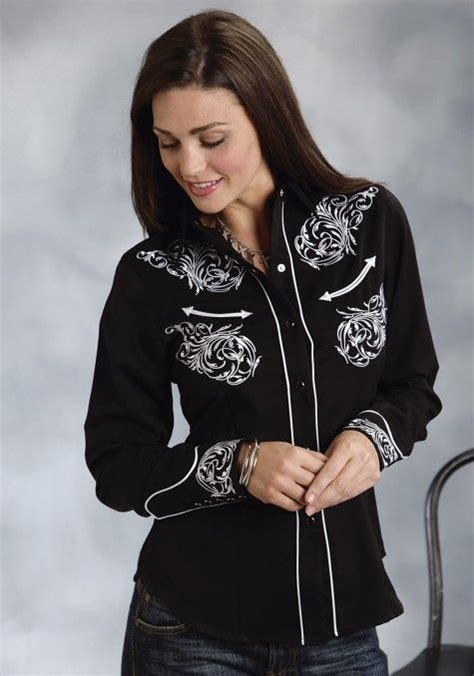 Wst 19075 Gold Shimmer Sleeve Blouse 61 best images about western show apparel on