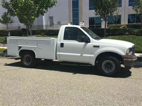 ford f250 bed ford f250 2003 utility service trucks
