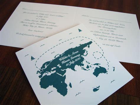 overseas wedding invitations templates custom designed overseas wedding invitations flamingo