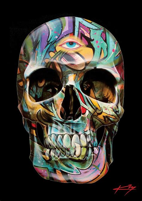 the mystic by gerrard king skulls pinterest graffiti