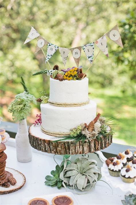 Nature Themed Baby Shower by Trending Now Rustic Cing Themed Baby Shower Baby