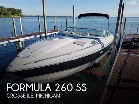 pontoon boats for sale near me craigslist canceled formula 260 ss boat in grosse ile mi 116500