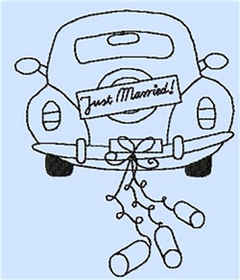 Just Married Auto Zeichnung Zum Ausdrucken by Kunterbunt Design Hochzeitszeit Online Kaufen
