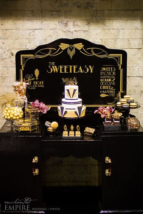 develop themes in the great gatsby new years eve wedding inspiration a great gatsby inspired