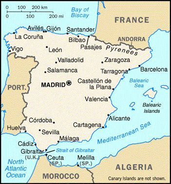madrid spain on world map where is madrid in spain on the map