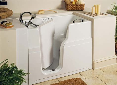 Walking Bathtub by Walk In Tubs Showers Genuine Designed For Seniors