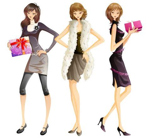 imagenes vectores compras jovensitas de compras de oto 241 o imagen vectorial de