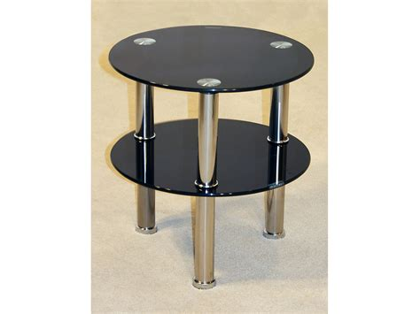 black side table with shelf black or clear glass side table 2 tier shelf unit