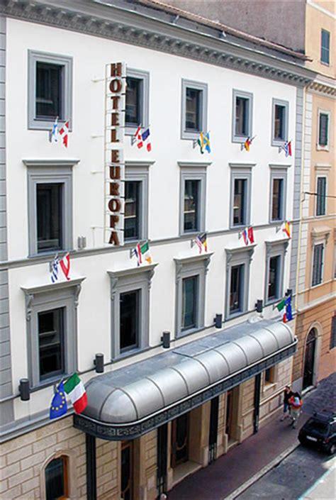 Hotel Rome Italy Europe europa hotel rome italy