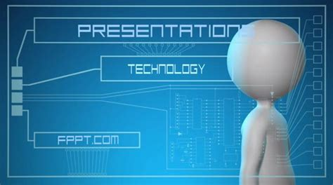 animated futuristic powerpoint template powerpoint