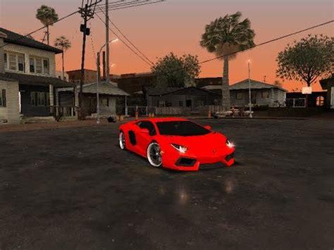 Lamborghini Yt by Lamborghini Aventador Para Gta San Andreas Youtube