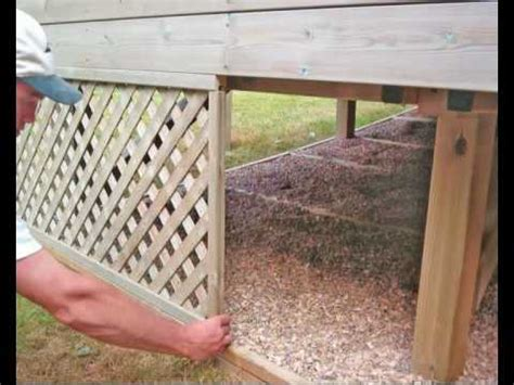 build  deck part  finishing touches