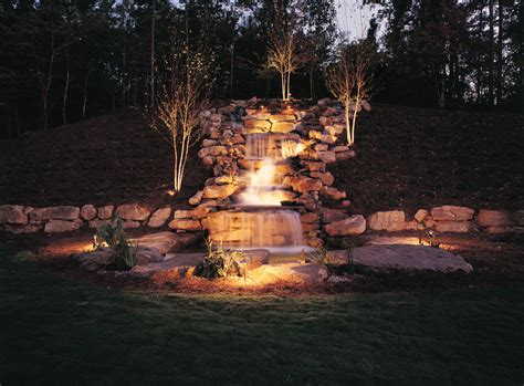 Underwater Landscape Lighting The Artful Techniques Of Columbus Water Feature Lighting Outdoor Lighting Perspectives Of Columbus