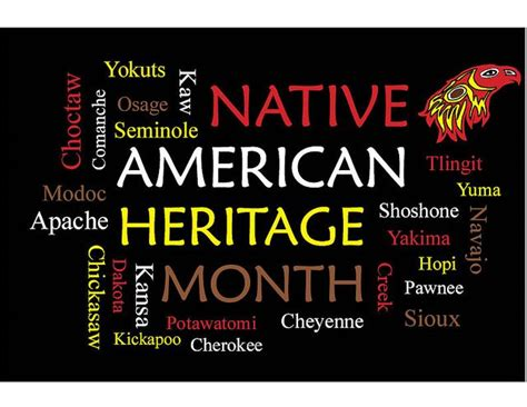 native american heritage month edsitement native american heritage month poster first americans