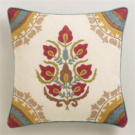 Floral Throw Pillows Floral Medallion Throw Pillow World Market