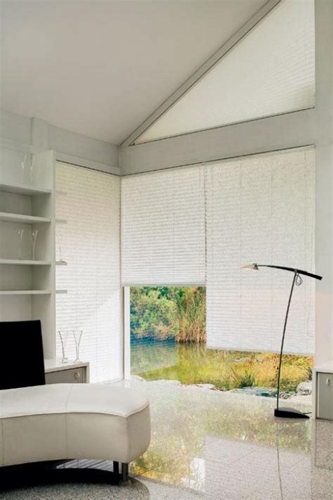 Pleated Shades For Windows Decor 10 Ideas To Use Pleated Blinds To Decorate Windows Shelterness