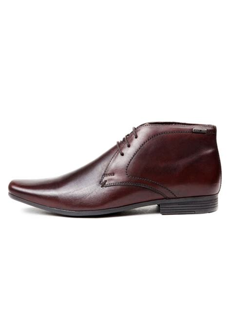 brown leather formal shoes rts6692