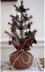 christmas tree primitive style christmas trees pinterest