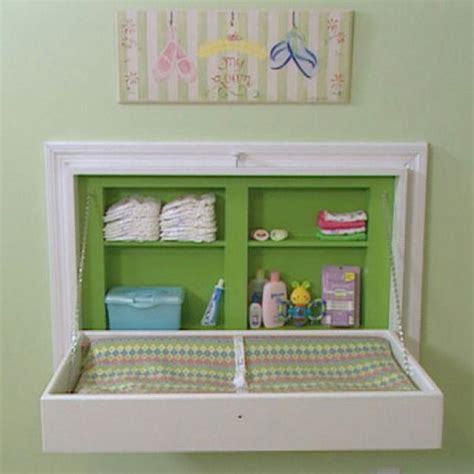 Folding Baby Changing Table Diy Baby Room Pinterest Foldable Baby Changing Table
