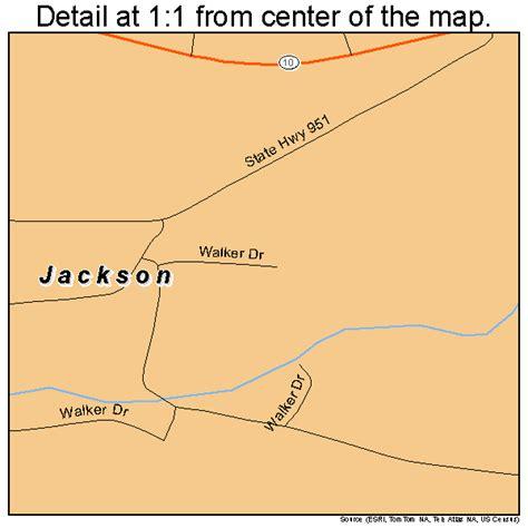 jackson louisiana map jackson louisiana map 2237830
