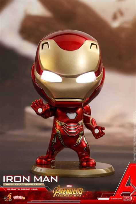 iron man dom iron man dom avengers infinity war cosbaby bobble heads