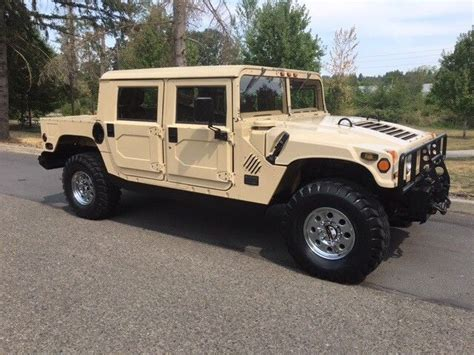 original hummer 1992 general hummer h1 limited edition