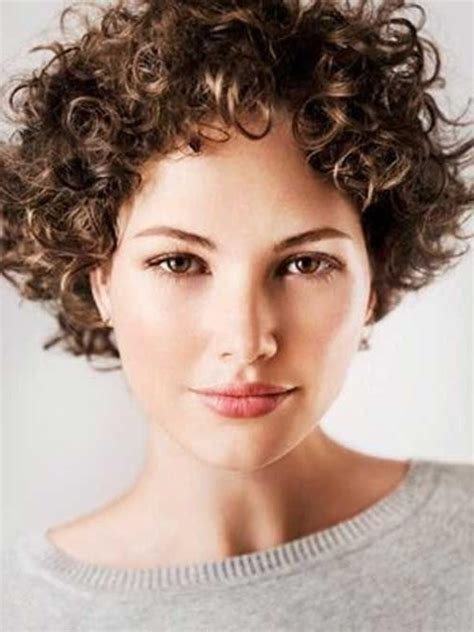 hairstyles only 15 best ideas of short hairstyles for women with curly hair