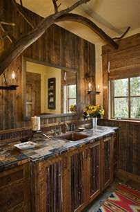 Western Bathroom Ideas by Rustic Bathrooms