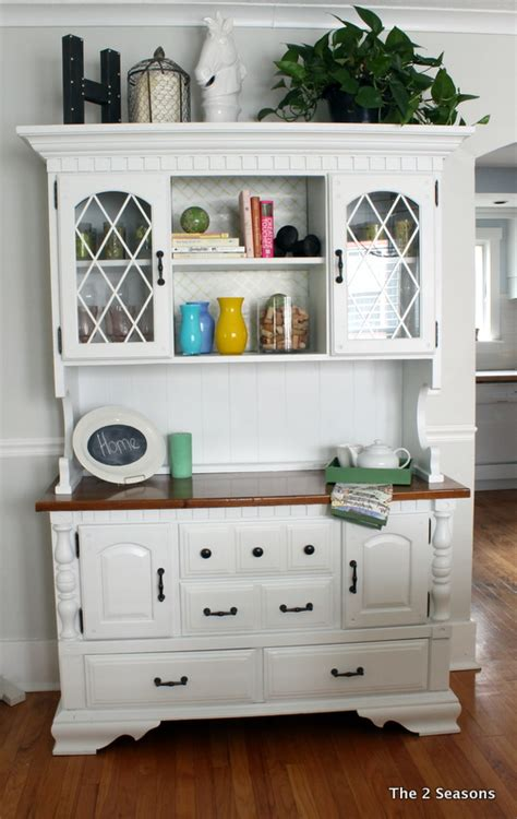 How To Decorate A Hutch by The 2 Seasons The Lifestyle