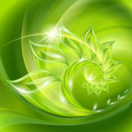 eco green abstract vector art background