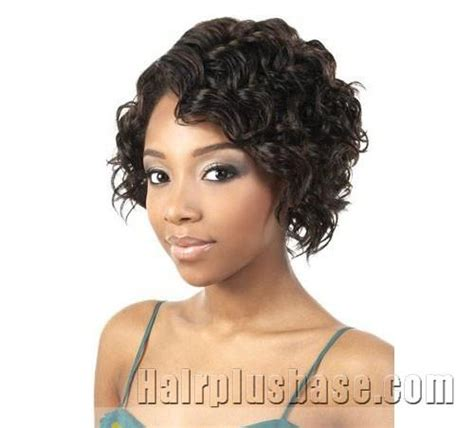 how to curl an african american side bang 10 inch delicate short curly sepia side bang african