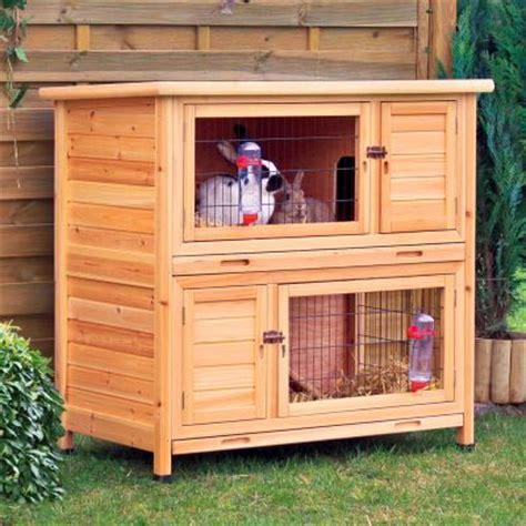 Cage ã ã Tage Pour Lapin Natura 224 233 Tage Clapier Pour Lapin Et Cochon D Inde Zooplus