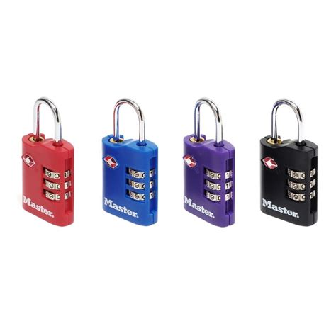 cadenas velo master lock set de 2 cadenas tsa 224 combinaison zinc 30 mm masterlock