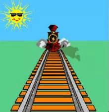 christmas train gifs tenor