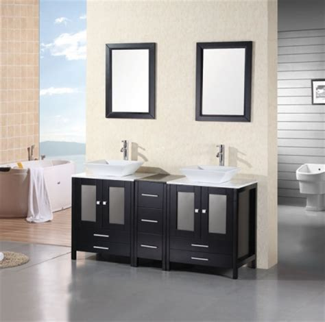61 inch bathroom vanity 61 inch modern double sink bathroom vanity with white
