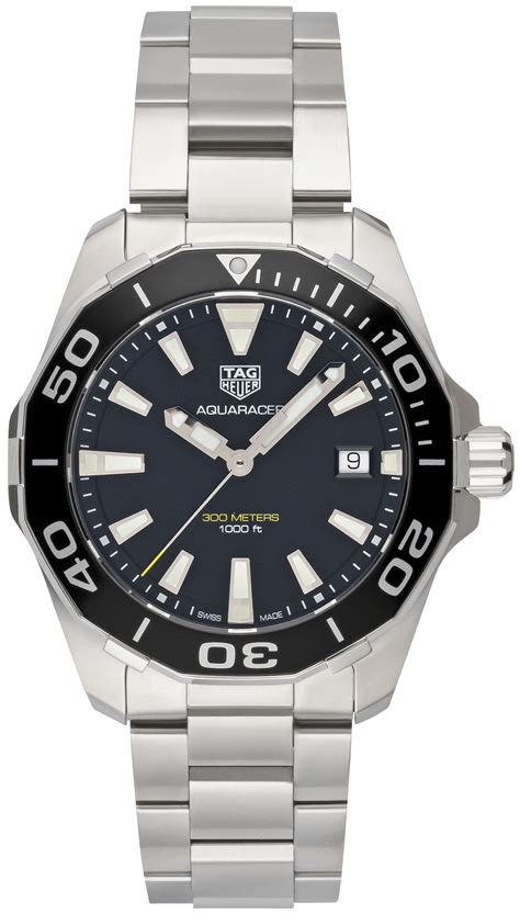 Tag Heuer Aquaracer Way111a Ba0928 tag heuer aquaracer quarz 41mm way111a ba0928