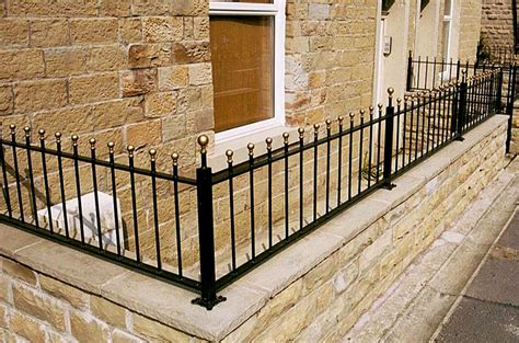 Garden Wall Railings Wrought Iron Wall Top Garden Railings Valley Forge