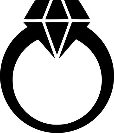 diamond ring svg png icon