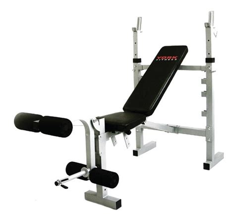 york gym bench york fitness b530 heavy duty incline and decline bench